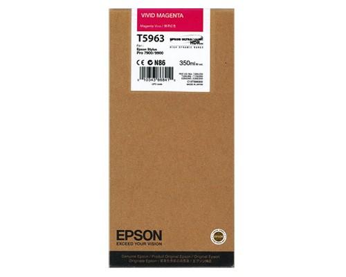 ~Brand New Original EPSON T596300 INK / INKJET Cartridge Vivid Magenta