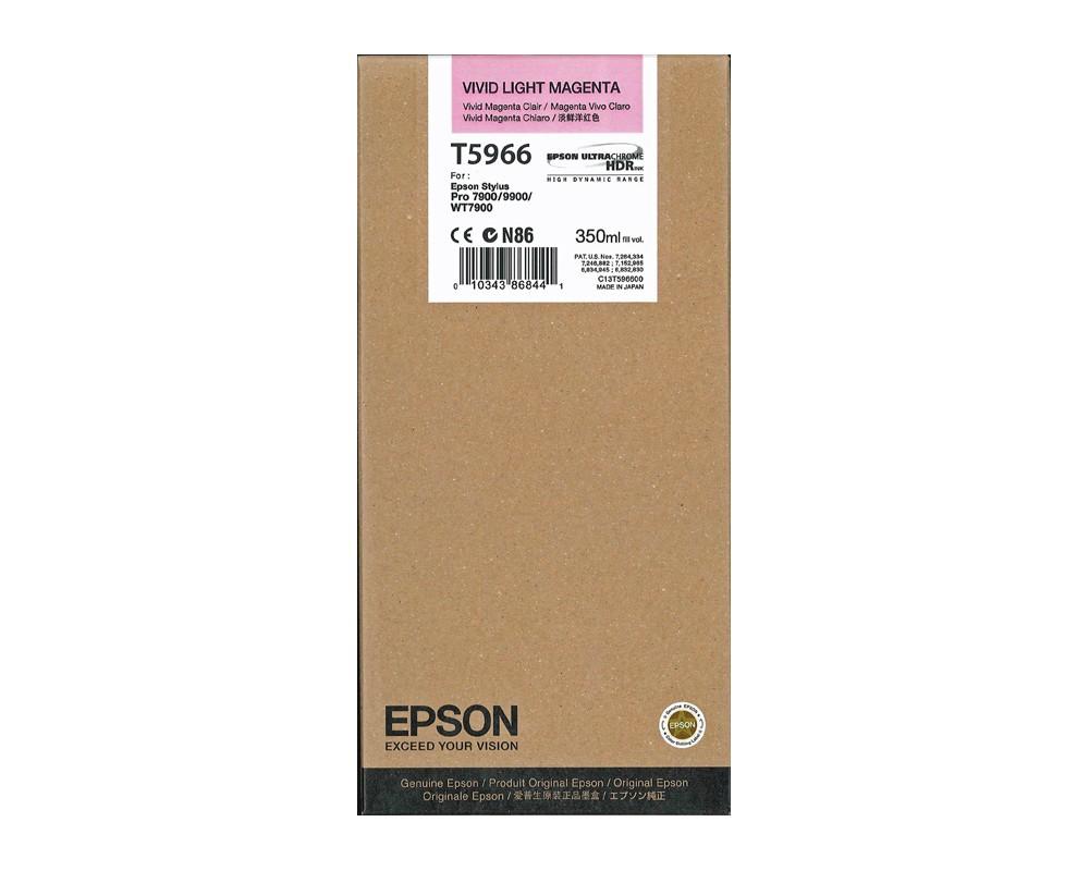 ~Brand New Original EPSON T596600 INK / INKJET Cartridge Vivid Light Magenta