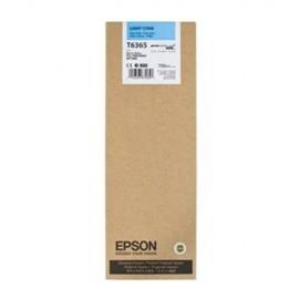 Original EPSON T636500 INK / INKJET Cartridge Light Cyan