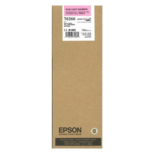 Original EPSON T636600 INK / INKJET Cartridge Vivid Light Magenta