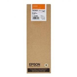 Original EPSON T636A00 INK / INKJET Cartridge Orange