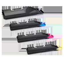 KYOCERA MITA TK-857 Laser Toner Cartridge Set Black Cyan Magenta Yellow