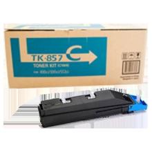 ~Brand New Original KYOCERA MITA TK-857C Laser Toner Cartridge Cyan