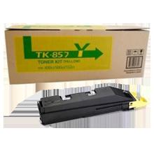 ~Brand New Original KYOCERA MITA TK-857Y Laser Toner Cartridge Yellow