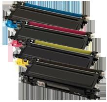~Brand New Original BROTHER TN110 Laser Toner Cartridge Set Black Cyan Yellow Magenta