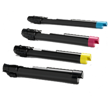 XEROX 7425 / 7428 / 7435 Laser Toner Cartridge Set Black Cyan Yellow Magenta