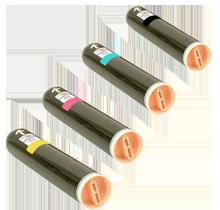 Xerox WC7328 Laser Toner Cartridge Set Black Cyan Yellow Magenta