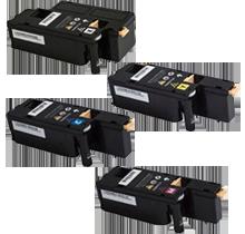 XEROX 6022 Laser Toner Cartridge Set Black Cyan Magenta Yellow
