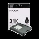 Brand New Original RICOH 405688 (GC-31BK) Ink/Inkjet Cartridge Black