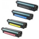HP 507X 507A High Yield Black Laser Toner Cartridge Set Black Cyan Yellow Magenta