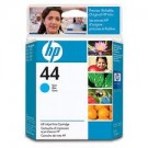 Brand New Original HP 51644C HP44 INK / INKJET Cartridge Cyan