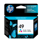 ~BRAND NEW ORIGINAL HP 51649A (49A) INK / INKJET CARTRIDGE TRI-COLOR