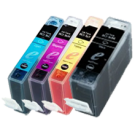 CANON BCI3e INK / INKJET Cartridges Set Black Cyan Yellow Magenta