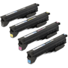 CANON C4080 Laser Toner Cartridge Set Black Cyan Yellow Magenta