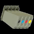 CANON CLC-200 Laser Toner Cartridge Set Black Cyan Yellow Magenta