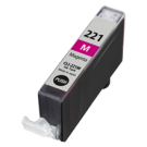 CANON CLI-221M INK / INKJET Cartridge Magenta (With Chip)