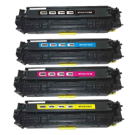 CANON CRG-118 Laser Toner Cartridge Set Black Cyan Magenta Yellow