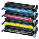 CANON EP86 Laser Toner Cartridge Set Black Cyan Yellow Magenta