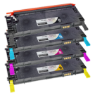 DELL 1230 / 1235 Laser Toner Cartridge Set Black Cyan Yellow Magenta
