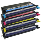 DELL 3115 Laser Toner Cartridges Set Black Cyan Yellow Magenta