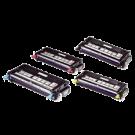 DELL 3130CN Laser Toner Cartridges Set Black Cyan Yellow Magenta High Yield