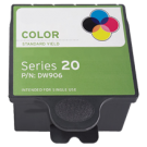 DELL DW906 INK / INKJET Cartridge Tri-Color