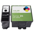 DELL DW905 / DW906 INK / INKJET Cartridge Combo Pack Black Tri-Color