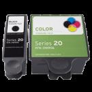 DELL DW905 / DW906 INK / INKJET Cartridge Combo Pack Black Tri-Color