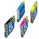EPSON C63 INK / INKJET Cartridge Set Black Cyan Yellow Magenta