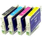 EPSON C67 INK / INKJET Cartridge Set Black Cyan Yellow Magenta