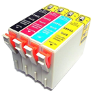EPSON C84 INK / INKJET Cartridge Set Black Cyan Yellow Magenta
