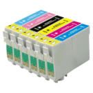 EPSON T048 INK / INKJET Cartridge Set Black Cyan Yellow Magenta Light Cyan Light Magenta