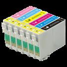 EPSON 1400 INK / INKJET Cartridge Set Black Cyan Yellow Magenta Light Cyan Light Magenta