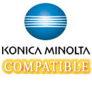 Konica Minolta 950-185 Laser Toner Cartridge Magenta