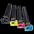 Konica Minolta C451 High Yield Laser Toner Cartridge Set Black Cyan Yellow Magenta
