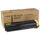 ~Brand New Original Kyocera Mita TK-512Y Laser Toner Cartridge Yellow