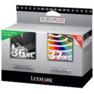 LEXMARK 18C2170 / 18C2180 36XL / 37XL INKJET Cartridge Black Color
