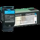 ~Brand New Original LEXMARK / IBM C544X1CG High Yield Laser Toner Cartridge Cyan