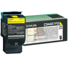 ~Brand New Original LEXMARK / IBM C544X1YG High Yield Laser Toner Cartridge Yellow