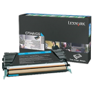 Brand New Original LEXMARK C734A1CG Laser Toner Cartridge Cyan