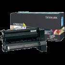 Original LEXMARK / IBM C782X1MG Laser Toner Cartridge Yellow