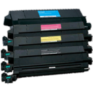 LEXMARK / IBM C910 Laser Toner Cartridge Set Black Cyan Yellow Magenta