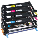 LEXMARK / IBM X560N Laser Toner Cartridge Set Black Cyan Yellow Magenta