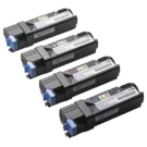 Ricoh 1224C Laser Toner Cartridge Set Black Cyan Yellow Magenta