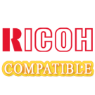 Brand New Compatible Ricoh 888062 Laser Toner Cartridge Black 6 Per Box