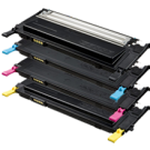 ~Brand New Original SAMSUNG CLP 315 Laser Toner Cartridge Set Black Cyan Yellow Magenta