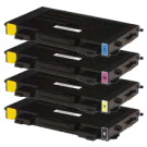 SAMSUNG CLP510 Laser Toner Cartridge Set Black Cyan Yellow Magenta