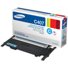 Brand New Original SAMSUNG CLT-C407S Laser Toner Cartridge Cyan