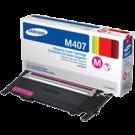 SAMSUNG CLT-M407S Laser Toner Cartridge Magenta