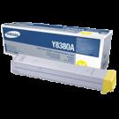 Brand New Original SAMSUNG CLX-Y8380A Laser Toner Cartridge Yellow